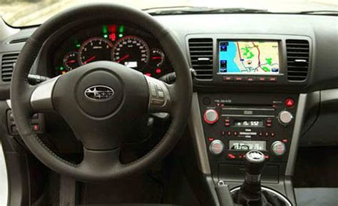 2008 subaru legacy interior car and driver