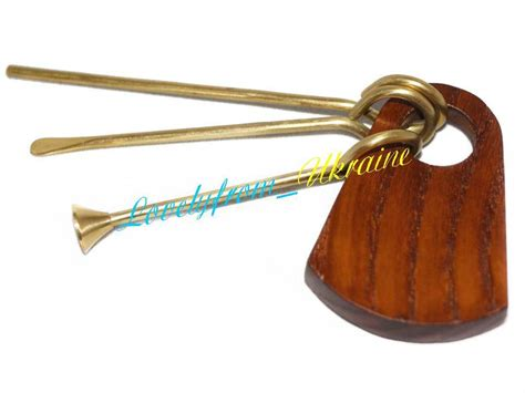 Holz Zitronen Reamer by Set Difficult Carved Tobacco Pipe