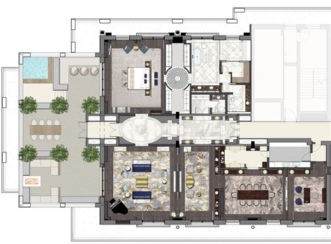 presidential suite floor plan presidential suite the st regis astana