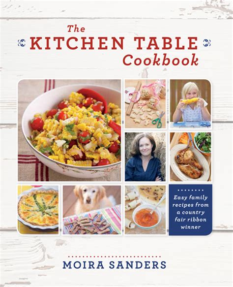 the kitchen table book moira sanders 2014