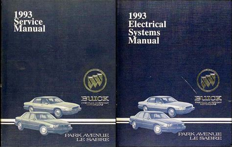 best auto repair manual 1993 buick park avenue electronic toll collection 1993 buick park avenue ultra and le sabre repair shop manual original set