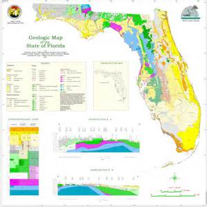 geological map of florida fgs state geologic map