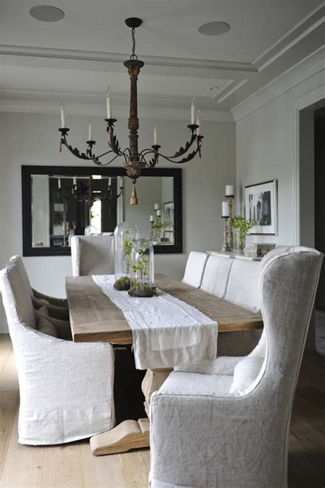 bradding shadow gray extension dining daily find restoration hardware salvaged wood trestle dining table copycatchic