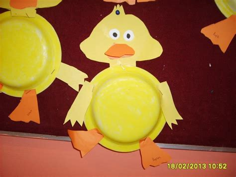 Duck Paper Plate Craft - paper plate duck craft idea