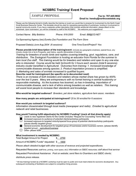 how to write a business proposal letter sample business sales