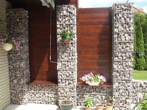 gitter für treppe fixias gartenbank gabionen bauen 083242 eine