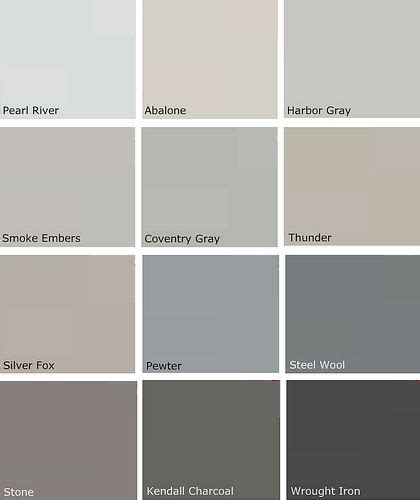 paint shades of grey 25 best ideas about gray paint colors on pinterest grey