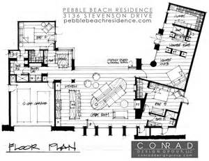 Mid Century Modern Homes Floor Plans by Updated Mid Century Home With Private 2 Tier Courtyard