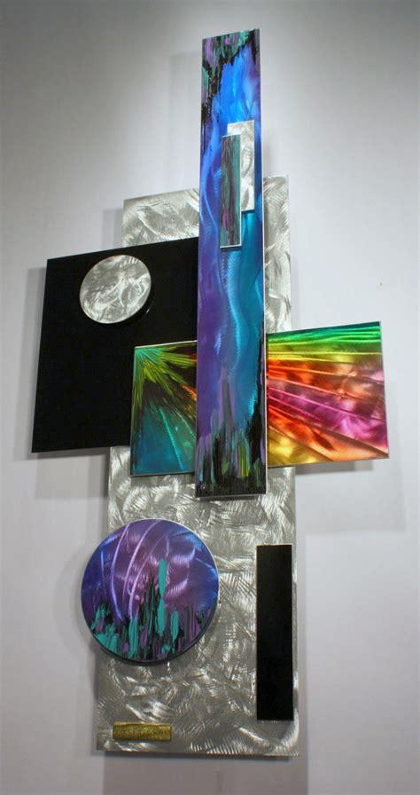 Rainbow Wall Decor by Modern Metal Rainbow Wall Abstract Metal Wall