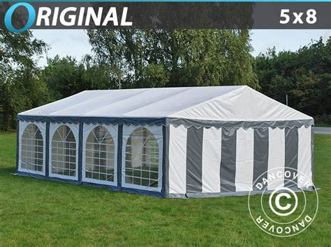 dancover gazebo dancover marquee original 5x8m pvc tent garden
