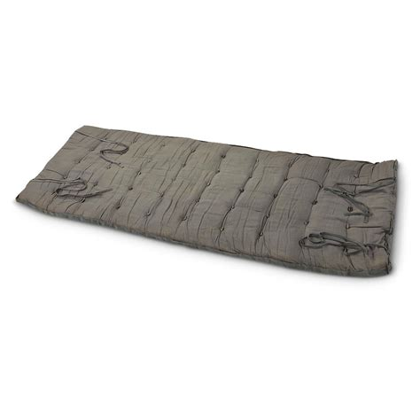 Army Surplus Sleeping Mat by Used Russian Insulated Sleep Mat Gray 206027