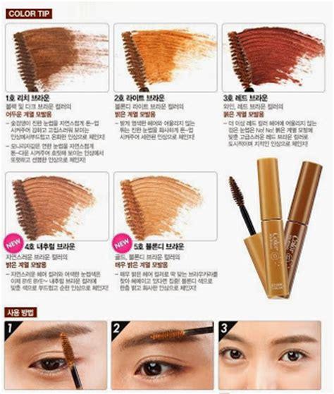 cara membuat alis wanita korea chibi s etude house korea tutorial membuat alis ala korea