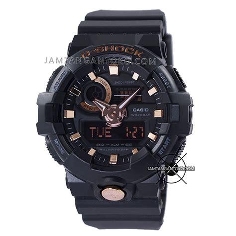 G Ci Murah Black Rosegold harga sarap jam tangan g shock ga 710b 1a4 black gold