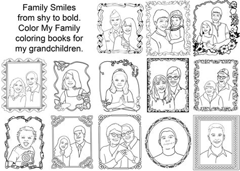 coloring pages of family members vitlt com