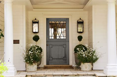 Exterior Front Door Colors Front Door Colors Creating Shocking Splash For The House Traba Homes