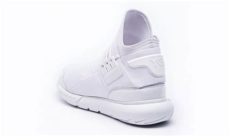 best all white sneakers new adidas y 3 qasa high all white yohji yamamoto sneakers