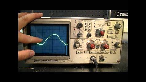 ac  dc explained      oscilloscope youtube