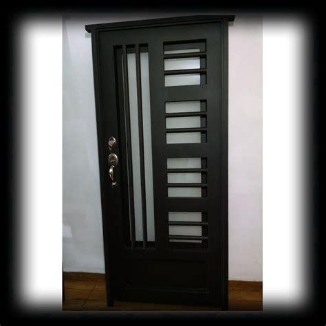 imagenes puertas minimalistas puerta principal de forja contempor 225 nea s 250 per oferta