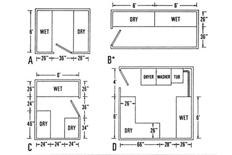 darkroom layout photography how to build a low budget darkroom