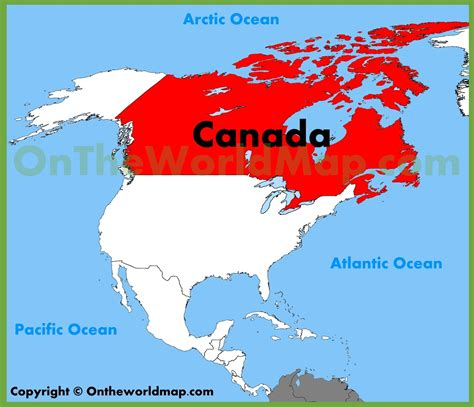 map of the world canada where can i get a map of canada