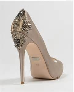 taupe color shoes badgley mischka dree ii taupe high heels wedding shoes