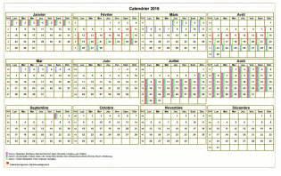 Calendrier 2018 Annuel à Imprimer Calendrier 2018 Annuel 224 Imprimer Avec Les Vacances