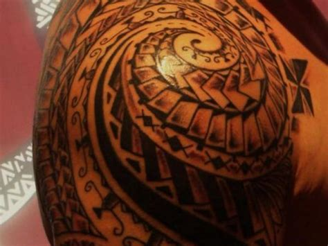 tattoo tribal maori 63 maori shoulder tattoos