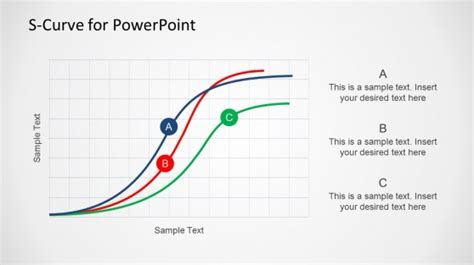creative s curve template for powerpoint slidemodel