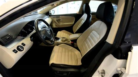 white volkswagen passat interior 2009 volkswagen cc luxury cpo stk 29048a for sale at