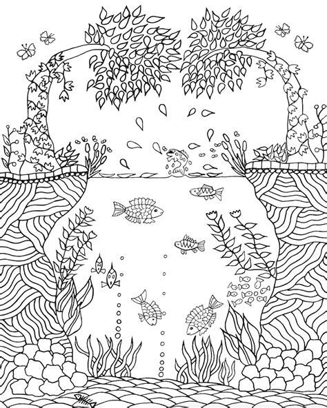 coloring books for adults nature coloring color in nature volume 1 color paint draw