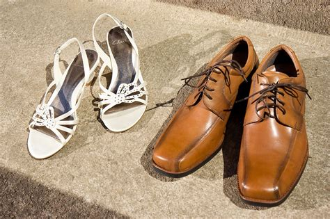 Two Pairs Of Shoes shoes free stock photo two pairs of shoes on the