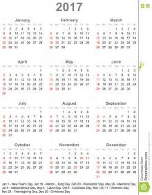 Kalendár Na 2018 Kalender 2017 F 252 R Usa Woche Beginnt Am Sonntag Vektor