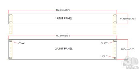 1 U Rack Dimensions by 19 Quot Rack Specifications