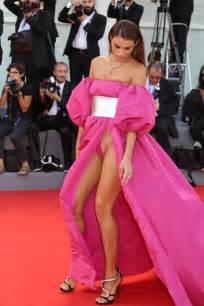 most embarrassing carpet dresses italian models