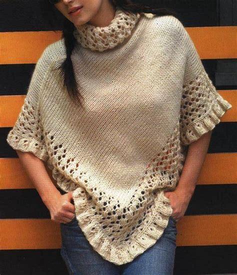 como tejer un saquito de lana c 243 mo tejer un poncho de lana c 243 mo hacer ponchos tejidos