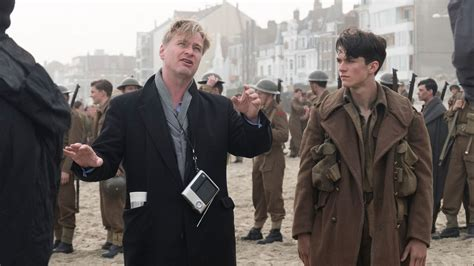dunkirk film acteur dunkirk director christopher nolan on why in this era