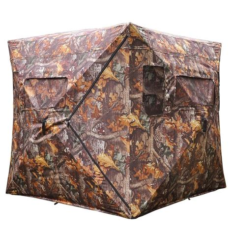 Pop Up Ground Blind Pop Up Hunting Ground Blind Real Tree Wood Camo Tent Hunt