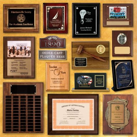 Handcrafted Plaques - custom plaques