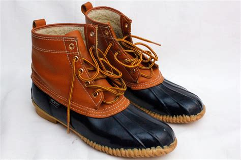 80s vintage sporto duck boots sz 9 by