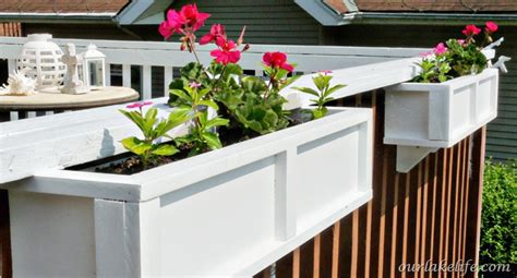 hometalk diy project deck planter boxes