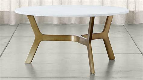 coffee table marble elke marble coffee table crate and barrel