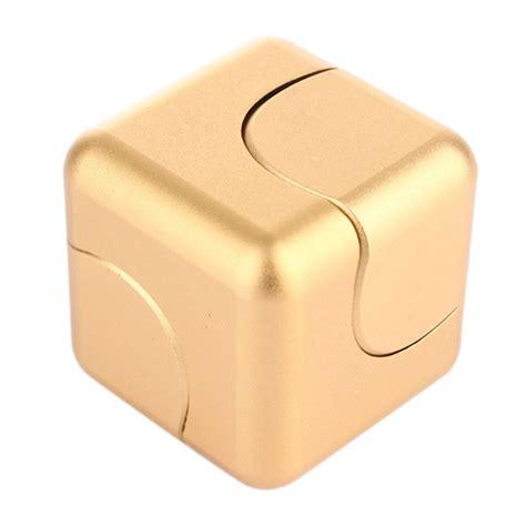 New Fidget Cube Fidget Spinner Cube Spinning Gyro fidget spinner square metal cube desk toys focus gyro edc spinning kid gift ebay