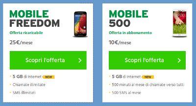 offerte fastweb mobile ricaricabile fastweb mobile aumenta la soglia mensile di traffico dati