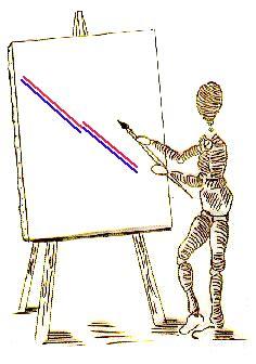 ilusiones opticas hering ilusion de poggendorff y hering ilusiones opticas