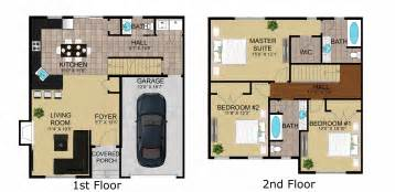 townhouse floor plans with garage schoolhouse luxury town house floor plan