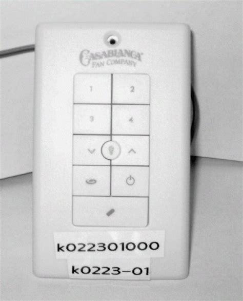 casablanca fan switch instructions casablanca new platform universal wall control