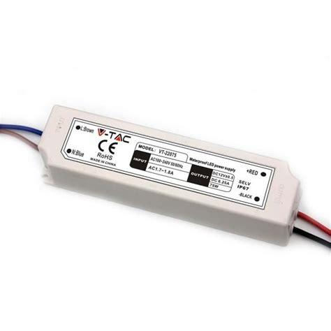 alimentatore strisce led alimentatore strisce led impermeabile esterno 12v 75w ip67