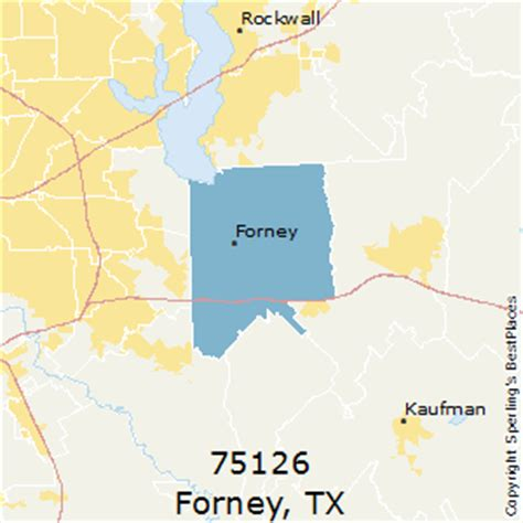 forney texas map best places to live in forney zip 75126 texas