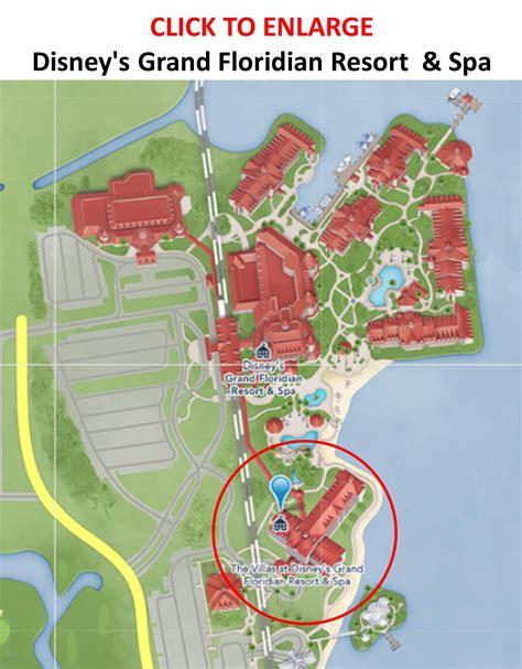 grand map review the villas at disney s grand floridian resort
