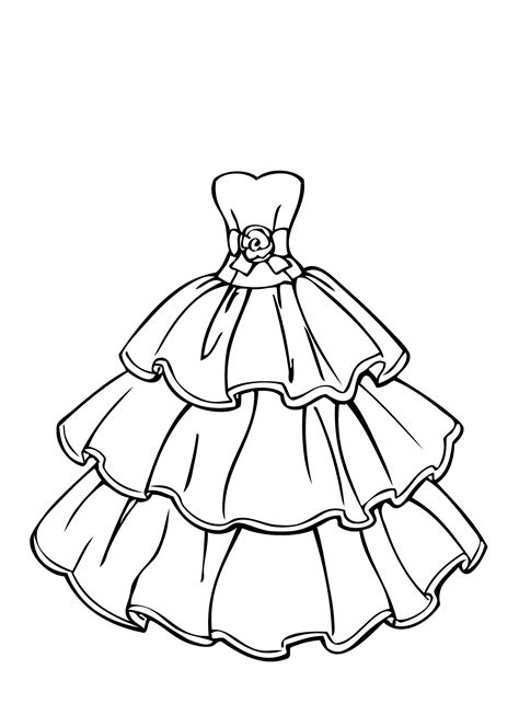 the dress book coloring book collette s dresses volume 4 books dress coloring sheets coloring home
